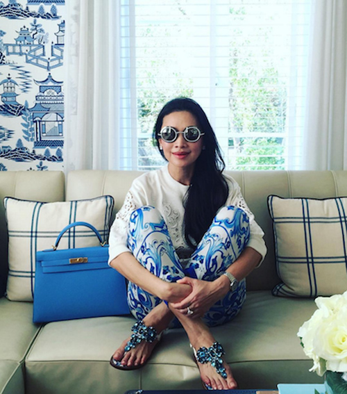 Thời trang xa xỉ của nữ tỷ phú 52 tuổi hot nhất thái lan - 14