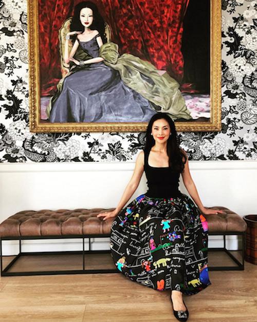 Thời trang xa xỉ của nữ tỷ phú 52 tuổi hot nhất thái lan - 17