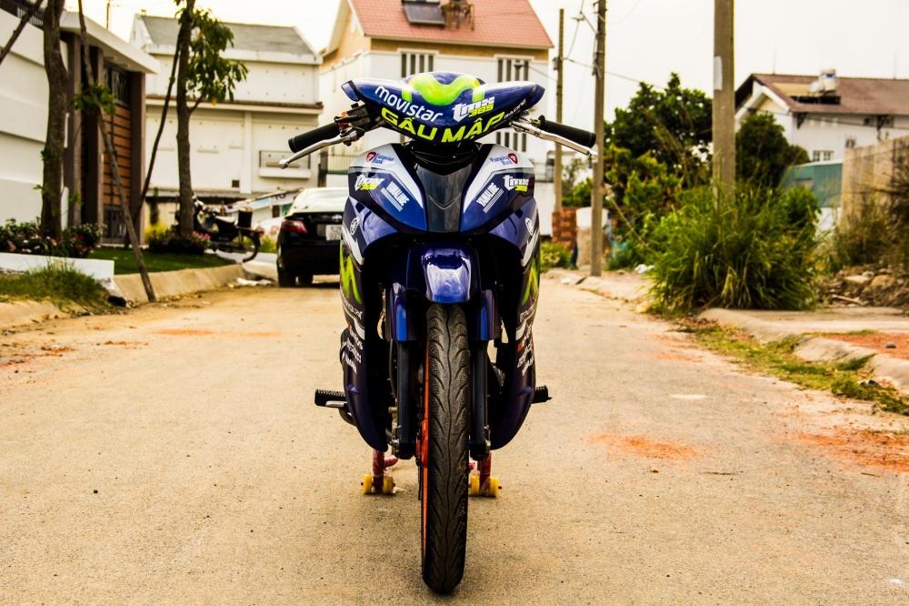 Yamaha jupiter phiên bản movistar độ phong cách xe chạy sân - 3