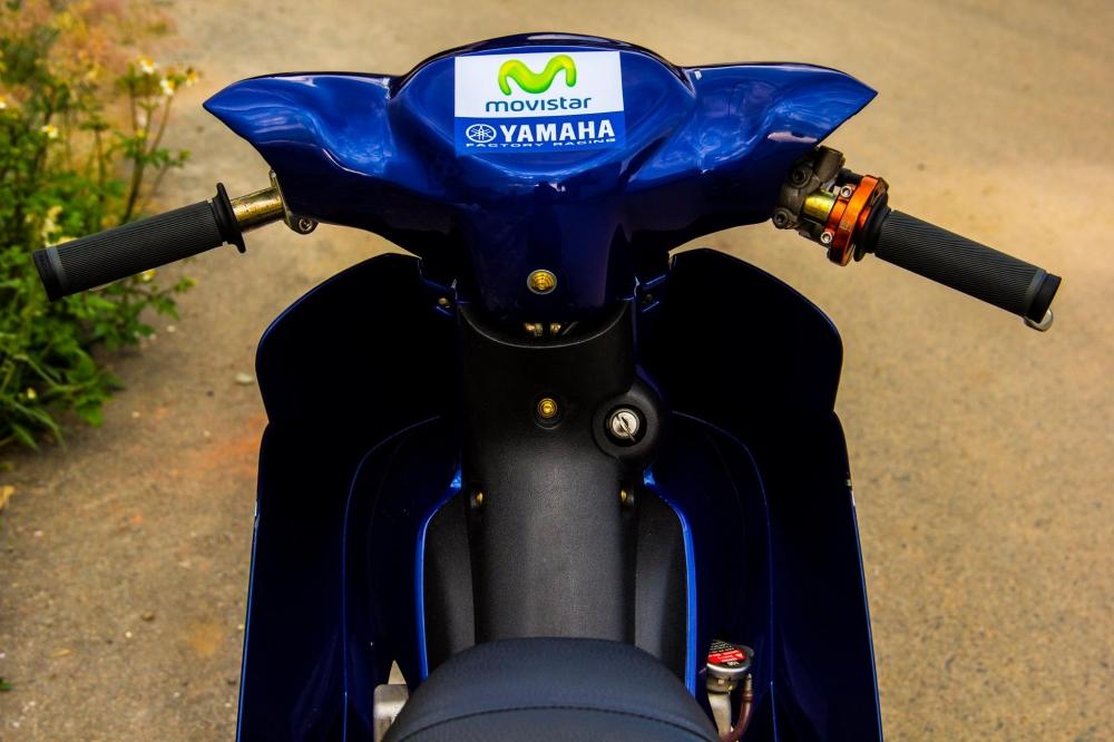 Yamaha jupiter phiên bản movistar độ phong cách xe chạy sân - 4