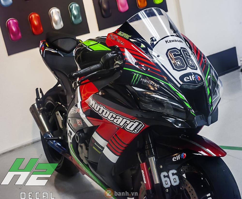Zx10r 2016 chất chơi trong bộ cánh đua phong cánh mới - 1