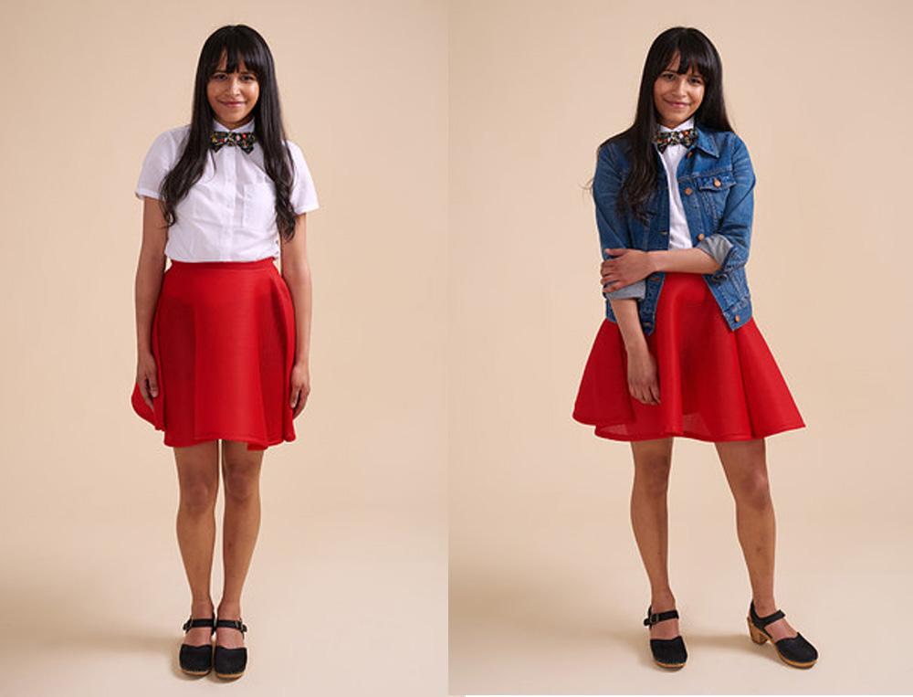 Biến hóa 10 phong cách khác nhau chỉ với 1 chiếc váy - 4