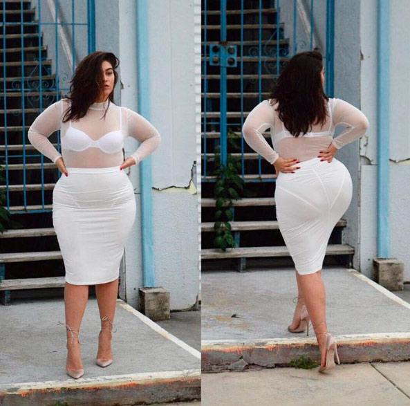 Đây là những lý do nàng béo không nên mặc xuyên thấu - 1