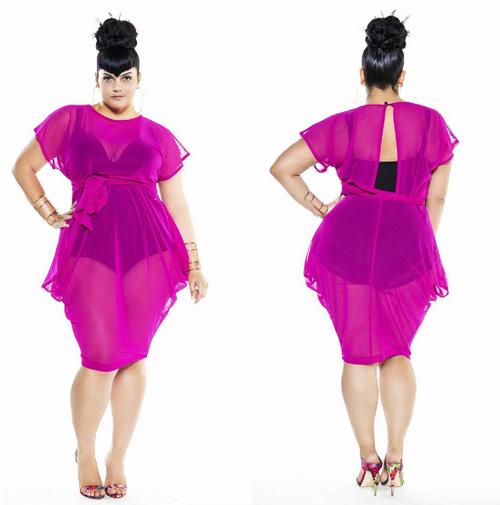 Đây là những lý do nàng béo không nên mặc xuyên thấu - 3