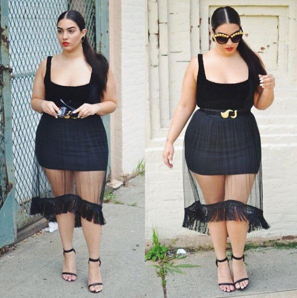 Đây là những lý do nàng béo không nên mặc xuyên thấu - 5