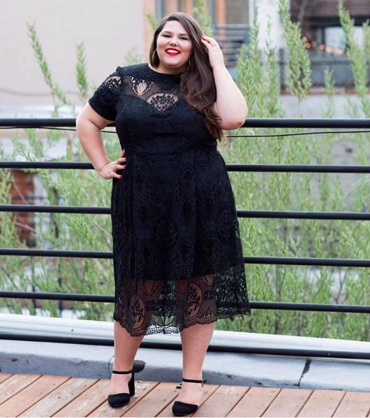 Đây là những lý do nàng béo không nên mặc xuyên thấu - 7