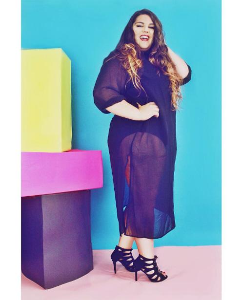 Đây là những lý do nàng béo không nên mặc xuyên thấu - 12