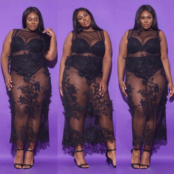 Đây là những lý do nàng béo không nên mặc xuyên thấu - 14