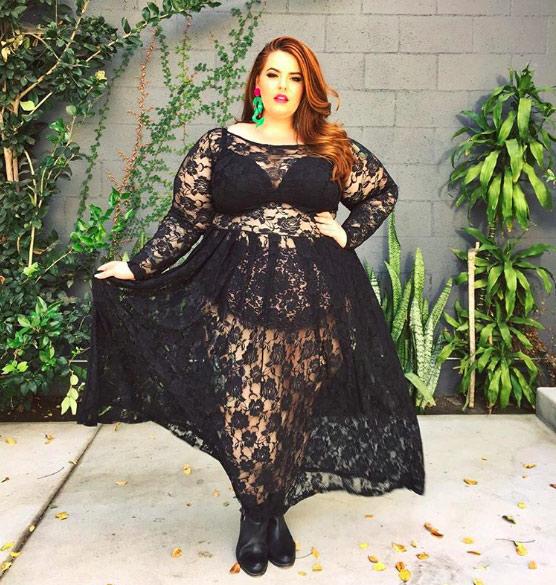 Đây là những lý do nàng béo không nên mặc xuyên thấu - 15