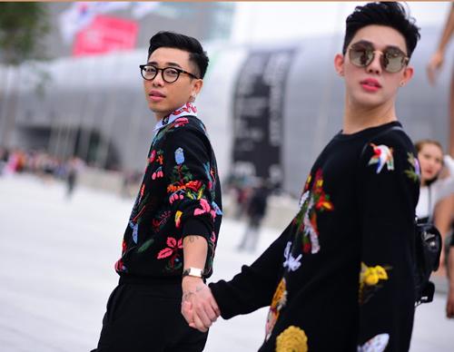 Hoàng ku chất lừ đến từng centimet đi xem seoul fashion week 2016 - 1