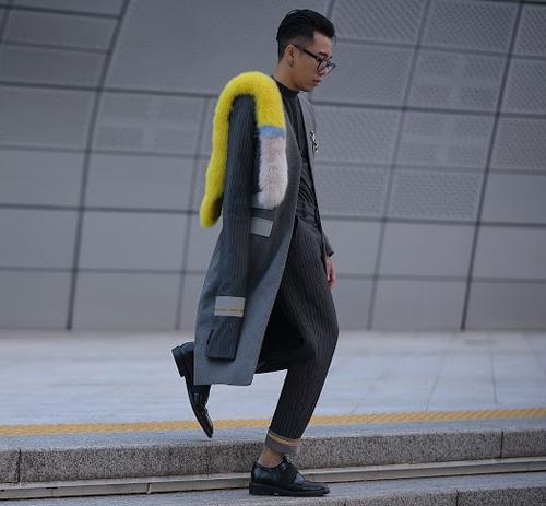 Hoàng ku chất lừ đến từng centimet đi xem seoul fashion week 2016 - 3