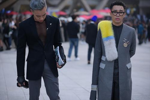Hoàng ku chất lừ đến từng centimet đi xem seoul fashion week 2016 - 4