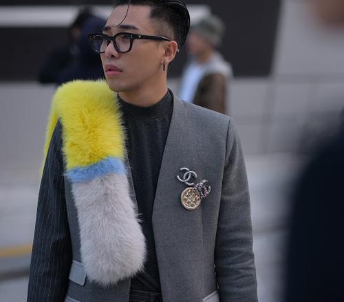 Hoàng ku chất lừ đến từng centimet đi xem seoul fashion week 2016 - 5