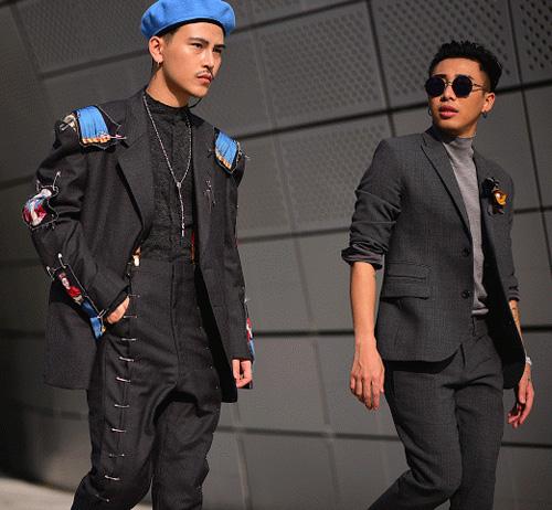 Hoàng ku chất lừ đến từng centimet đi xem seoul fashion week 2016 - 6