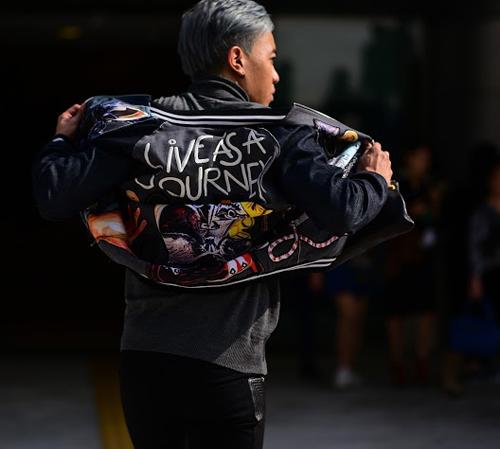 Hoàng ku chất lừ đến từng centimet đi xem seoul fashion week 2016 - 9