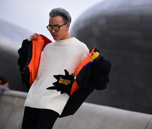 Hoàng ku chất lừ đến từng centimet đi xem seoul fashion week 2016 - 10