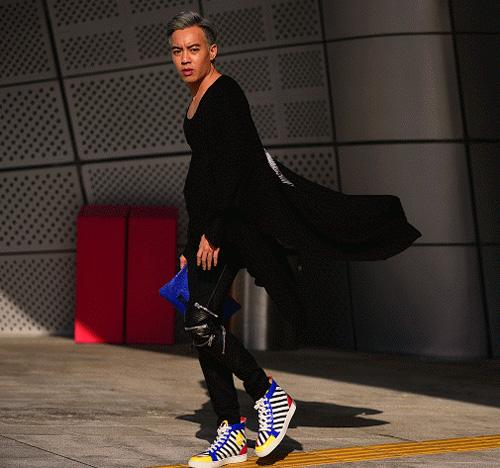 Hoàng ku chất lừ đến từng centimet đi xem seoul fashion week 2016 - 11