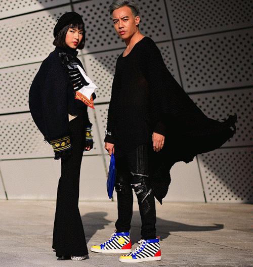 Hoàng ku chất lừ đến từng centimet đi xem seoul fashion week 2016 - 13
