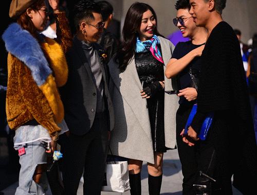 Hoàng ku chất lừ đến từng centimet đi xem seoul fashion week 2016 - 14