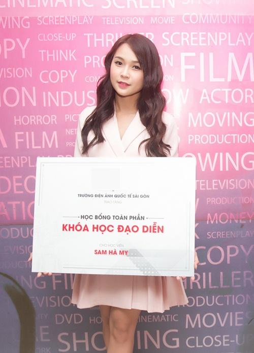 Hotgirl sam đẹp ngọt ngào đi nhận học bổng làm đạo diễn - 7