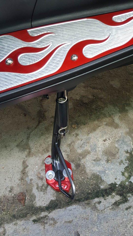 Super scooter honda pcx với loạt đồ chơi nổi bật - 10