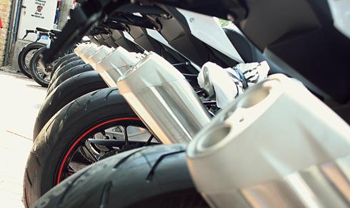 dàn siêu xe hai bánh bmw s1000rr đời mới ở sài gòn - 8