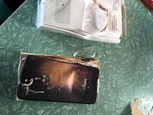 iphone 7 phát nổ khi còn trong hộp - 3