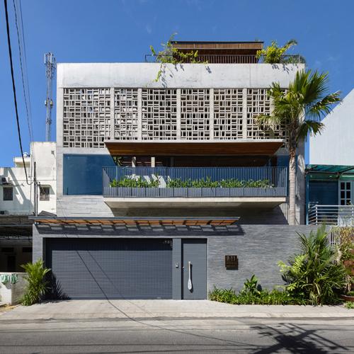 biệt thự sài gòn với bể bơi nằm ở tầng 2 - 1