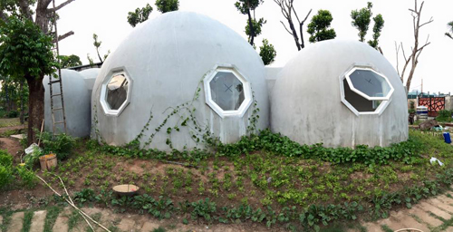ông bố hà nội làm ngôi nhà tròn kỳ lạ theo ước mơ của con - 5