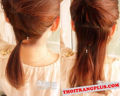 Cách tạo kiểu tóc búi bện đẹp cho bạn gái xinh xắn ngày hè 2017 - 2