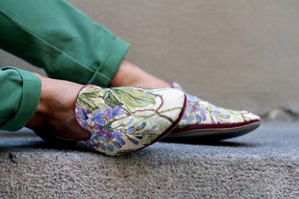 Giày nam họa tiết hoa lá đẹp hè 2017 xu hướng thời trang năm nay - 1