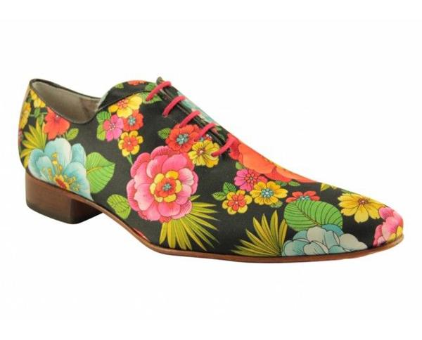 Giày nam họa tiết hoa lá đẹp hè 2017 xu hướng thời trang năm nay - 4
