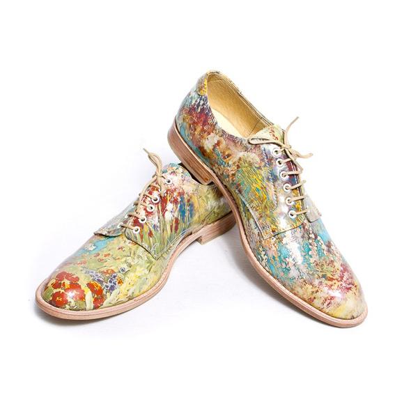 Giày nam họa tiết hoa lá đẹp hè 2017 xu hướng thời trang năm nay - 7