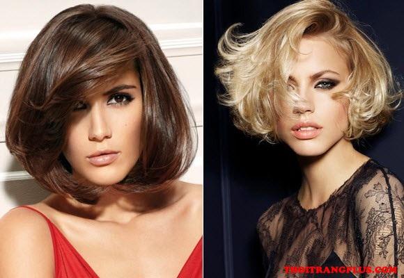 Kiểu tóc ngắn ngang vai đẹp đang là xu hướng nổi bật nhất 2017 - 6