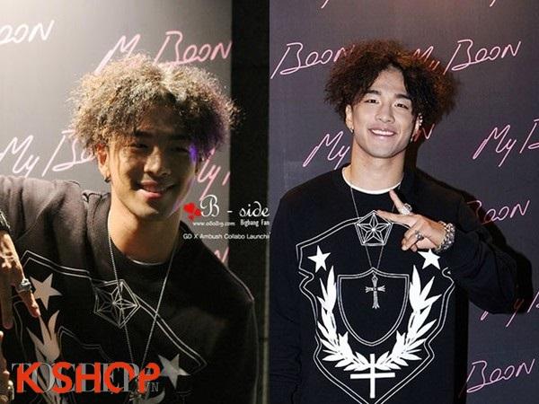 Top 10 kiểu tóc nam ngắn xoăn đẹp 2017 sao kim chi hàn quốc - 10