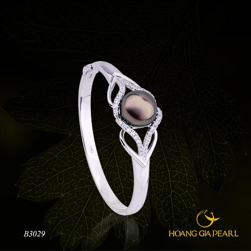 10 mẫu vòng tay ngọc trai cho cô nàng sành điệu - 8