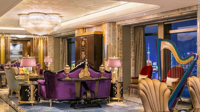 Bên trong khách sạn 7 sao tự phong đầu tiên ở thượng hải - 2