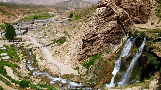 Dòng sông băng bí ẩn giữa sa mạc iran - 5