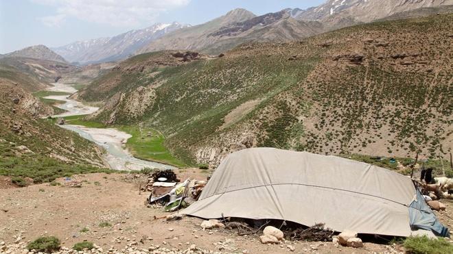 Dòng sông băng bí ẩn giữa sa mạc iran - 8