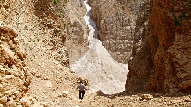 Dòng sông băng bí ẩn giữa sa mạc iran - 12