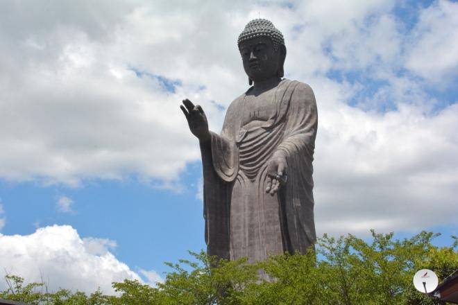 Nghìn tượng phật trong lòng tượng đồng lớn nhất nhật bản - 1