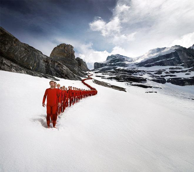 Những bức ảnh chưa từng có trên đỉnh alps - 2