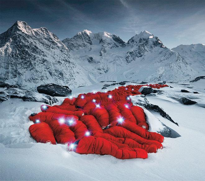 Những bức ảnh chưa từng có trên đỉnh alps - 5
