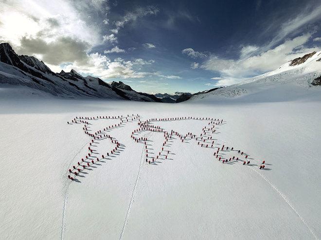 Những bức ảnh chưa từng có trên đỉnh alps - 7