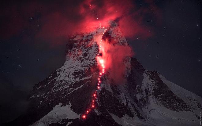 Những bức ảnh chưa từng có trên đỉnh alps - 8