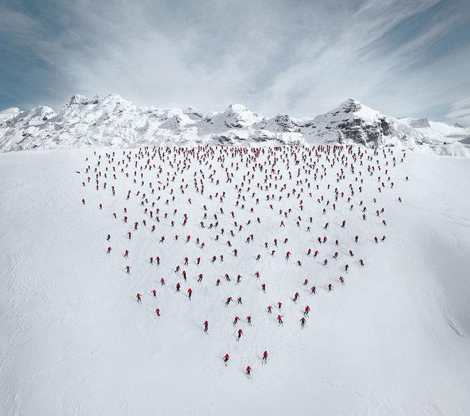 Những bức ảnh chưa từng có trên đỉnh alps - 1