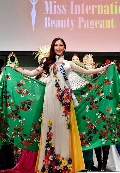 Phương linh nhận danh hiệu hoa hậu đại sứ du lịch tại nhật - 1