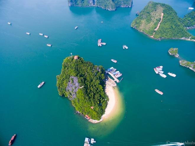 Vịnh hạ long - bối cảnh phim kong skull island nhìn từ trên cao - 2
