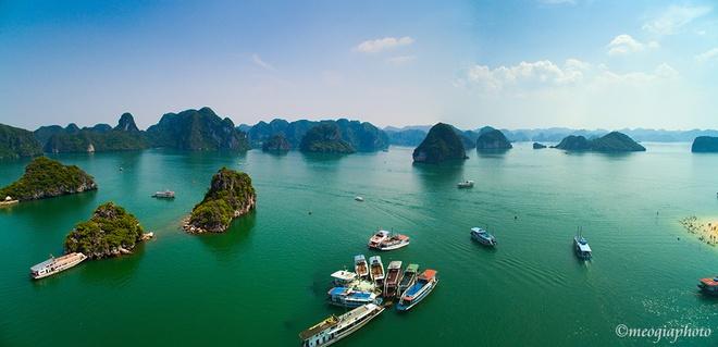Vịnh hạ long - bối cảnh phim kong skull island nhìn từ trên cao - 3