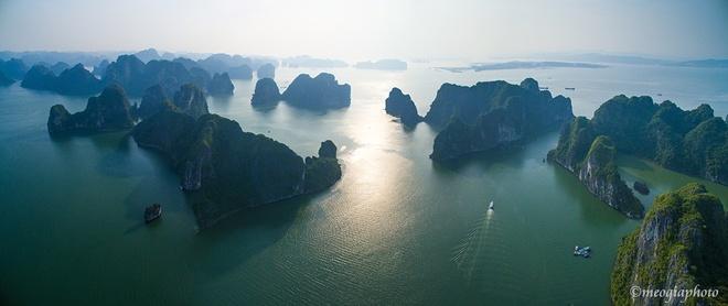 Vịnh hạ long - bối cảnh phim kong skull island nhìn từ trên cao - 8